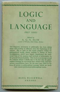 Logic and Language (First Series)