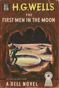 image of The First Men in the Moon; with Map on Back Cover (A Novel of Scientific Fantasy)