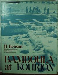 Bamboula at Kourion, the Necropolis and the Finds