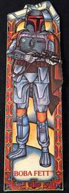 Original 1983 Star Wars Return of the Jedi BOBA FETT Bookmark; #11 in the series by  George (Star Wars) LUCAS - Ephemera - 1983 - from Back in Time Rare Books, LLC (SKU: 1312)