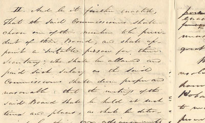 22/02/1825. Robert M. Patterson With manuscript and printed material documenting the work of the pro...