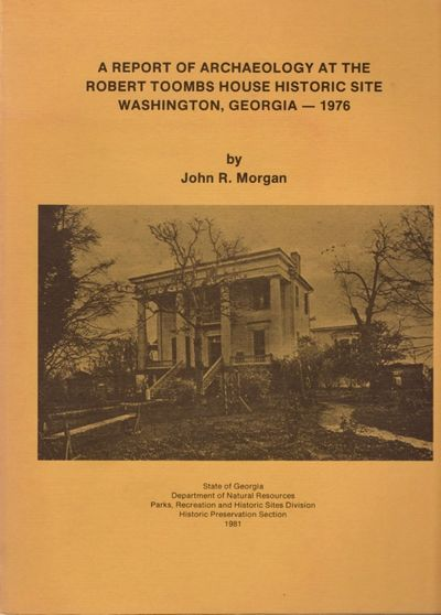 Atlanta: State of Georgia Department of Natural Resources, 1981. First Edition. Soft cover. Very goo...