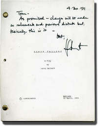 image of Power Failure (Original script for the 1991 play, signed by playwright Larry Gelbart)