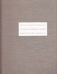 The Music of Frederick Sommer:  drawings in the Manner of Musical Scores, Performed by Steven Aldtich & Walton Mendelson