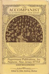 image of The Accompanist: An Autobiography of Andre Benoist