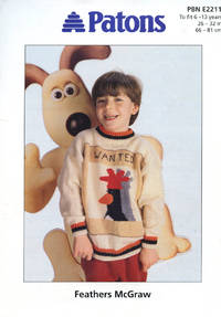image of PATONS : FEATHERS McGRAW : To Fit 6 - 13 Years : 1989 (Patons Booklet E2211