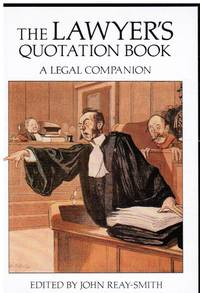 image of Lawyers Quotation Book a Legal Companion