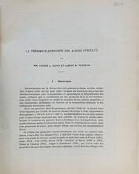 La Thermo-Electricite des Aciers Speciaux.