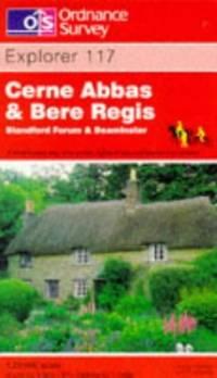 image of Cerne Abbas and Bere Regis, Blandford Forum and Beaminster (Explorer Maps)