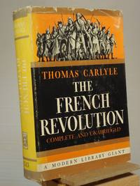 The French Revolution by Thomas Carlyle - Hardcover - Reprint.  - 0 - from Henniker Book Farm and Biblio.com