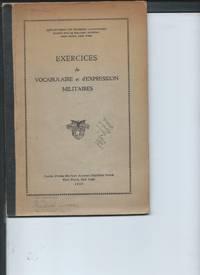 Exercices de Vocabulaire et d'Epression Militaires