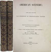 image of AMERICAN SCENERY OR, LAND, LAKE, AND RIVER ILLUSTRATIONS OF TRANSATLANTIC  NATURE