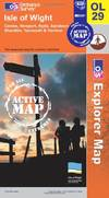 image of Isle of Wight (OS Explorer Map Active)