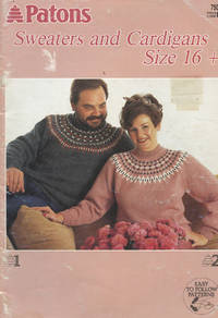 image of PATONS : SWEATERS AND CARDIGANS SIZE 16+ (Patons Book #750)