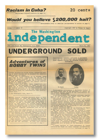 Washington, DC, 1967. Whole numbers 12 - 15 (all published under this title). Four issues. Folio new...