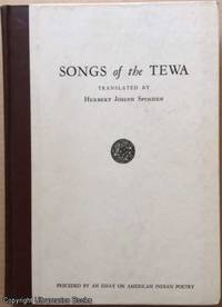 image of Songs of the Tewa. Preceded by an Essay on American Indian Poetry