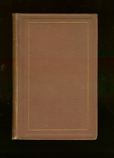 New York: Harper & Brothers, 1861. Hardcover. Very Good. First edition. Some light foxing else very ...