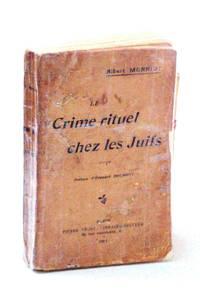 Le Crime Rituel Chez Les Juifs