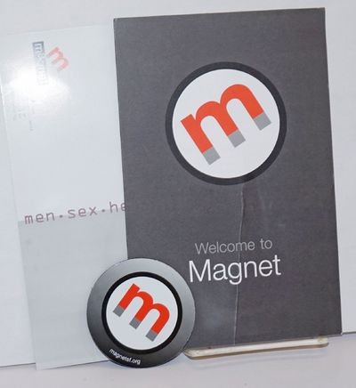 San Francisco: Magnet, 2013. Four-panel brochure on heavy stock, folded to 5.5x8.5 inches, one color...