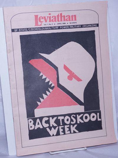 San Francisco: V.R.-Leviathan Publications, 1969. Newspaper. 48p., un-folded tabloid underground new...
