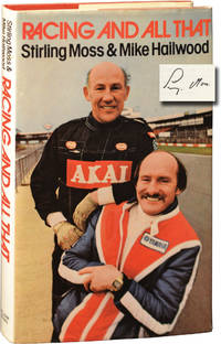image of Racing and All That (First UK Edition, signed by Sir Stirling Moss)