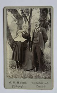 Carte De Visite Photograph: Woodland Portrait of Mother, Father & Daughter. by G. M. Marshall