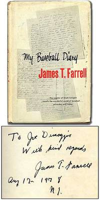 My Baseball Diary by  James T FARRELL - Signed First Edition - 1957 - from Between the Covers- Rare Books, Inc. ABAA (SKU: 91728)