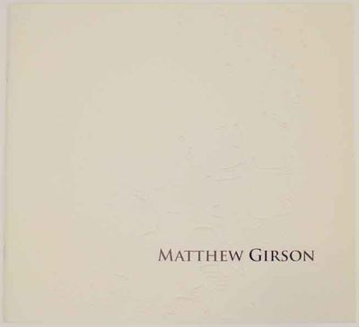 Lake Forest, IL: Sonnenschein Gallery, Lake Forest College, 2006. First edition. Softcover. 15 pages...