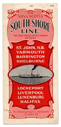 South Shore Line leaflet, 1905