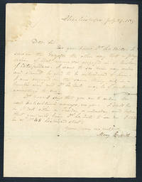 Autograph letter signed to Dr. John Francis
