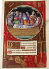 View Image 1 of 4 for Illuminated Manuscript Leaf: The Entombment, Miniature from a Book of Hours Inventory #2417
