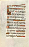 View Image 2 of 4 for Illuminated Manuscript Leaf: The Entombment, Miniature from a Book of Hours Inventory #2417