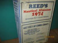 image of Reed's Nautical Almanac 1974 American East - Coast Edition