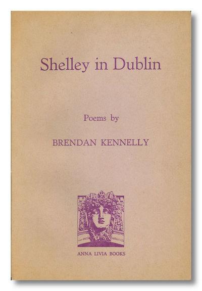 : Anna Livia Books / Dublin Magazine Press, 1974. Pale violet printed wrapper. Wrapper a trace sunne...