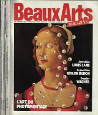 Beaux Art Magazine Anno 1984 N° 9, 10, 11, 12