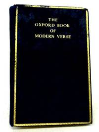 The Oxford Book of Modern Verse 1892 1935