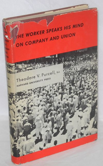 Cambridge: Harvard University Press, 1953. xiv, 344p., illus., original cloth binding, very good con...