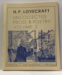 UNCOLLECTED PROSE AND POETRY. VOLUME 2