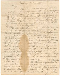 The Only Abraham Lincoln Letter to his Fiancée Mary Owens Still in Private Hands—Long on Politics, Short on Love