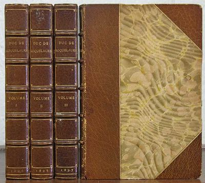 (n. p.): Privately Printed, 1897. 1st edition thus. #405 / 1000 cc. Period 3/4 brown morocco binding...