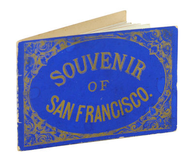 Published by Ward Bros. Colum, (c. 1885). Oblong 12mo, original blue coated-paper wrappers, title gi...