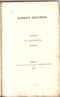 image of HEBREW MELODIES