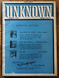 UNKNOWN FANTASY FICTION. August, 1941 Campbell, Jr., John W. (Editor)
