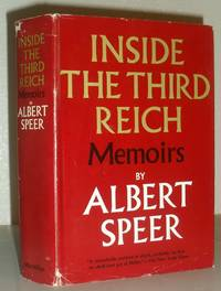 Inside the Third Reich - Memoirs By Albert Speer by Albert Speer - Hardcover - Second Printing - 1970 - from Washburn Books and Biblio.com