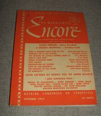 image of The Magazine Encore for October 1943