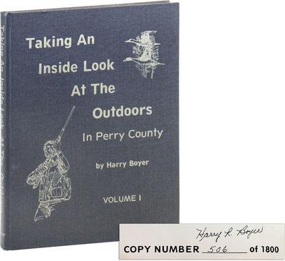 Newport, PA: The News Printery, 1984. First, Limited Edition. First printing. Quarto (28.5cm.); blac...