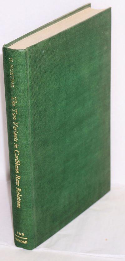 London: Oxford University Press, 1967. xii, 207p., green cloth boards gilt. Good copy sans dj. Hoeti...