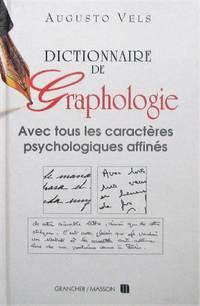image of Dictionnaire de graphologie et des termes psychologiques correspondants