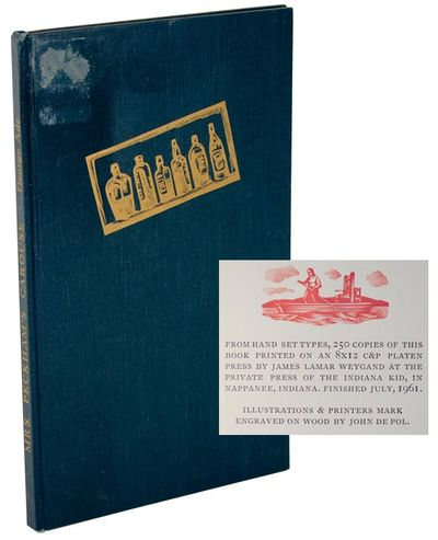 Nappanee, IN: The Indiana Kid, 1961. First edition. Hardcover. One of 250 copies. An ex library copy...