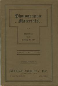 PHOTOGRAPHIC MATERIALS: MAIL ORDER, CASH, CATALOGUE: NO. 124.; [cover title]